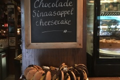 Chocolade sinaasappel cheesecake